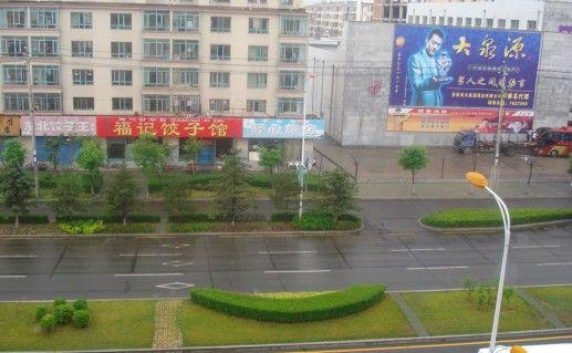 Фотография улицы Хуньчуня вид сверху