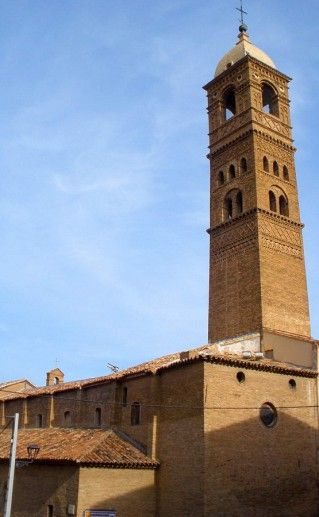фотография церкви Марии Магдалены в Сарагосе