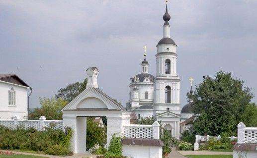 Черноостровский монастырь в Малоярославце фото