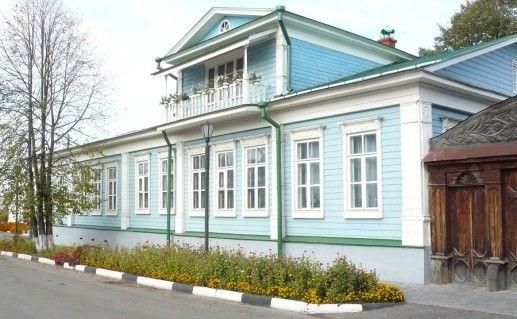 здание дома графини Паниной в Городце фото
