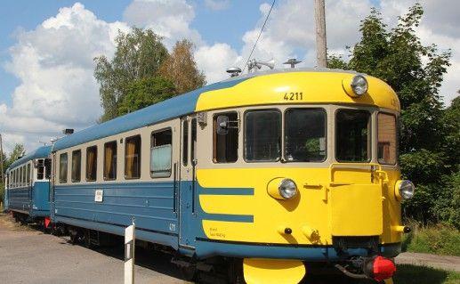 фото музейной железной дороги в Порвоо