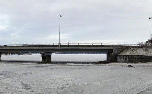 фото Карельского моста в Сортавале