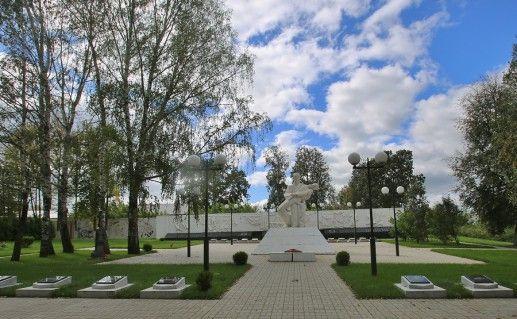 Фотография Козельского мемориального парка