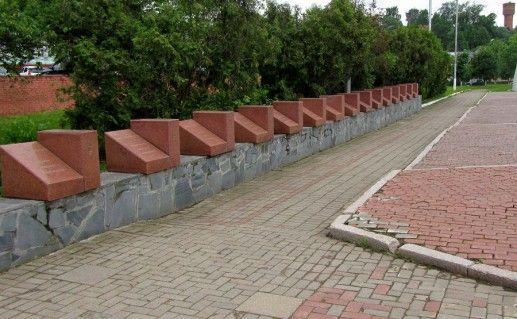 Фотография мемориала погибшим волоколамцам