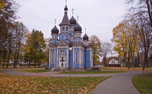православная церковь в Друскининкай фото