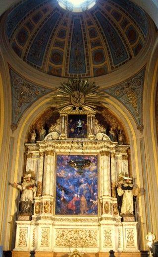 собор Пилар в Сарагосе фотография внутри