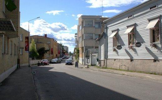 улица Линнанкату в Савонлинне фото