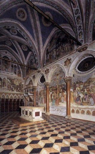фотография базилики Сант Антонио вид изнутри