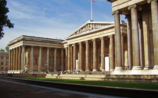 британский музей в Лондоне фотография
