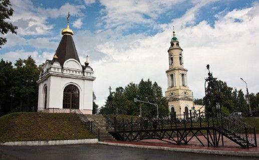 часовня в Воскресенском соборе Павловского Посада фото