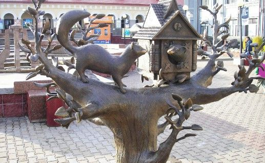 фотография домика куницы в Уфе