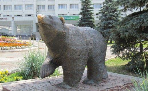 легенда о пермском медведе фотография