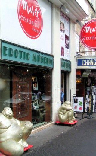 музей эротики в Париже фотография