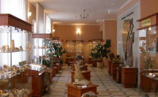 фотография музея геологии и полезных ископаемых Башкортостана в Уфе