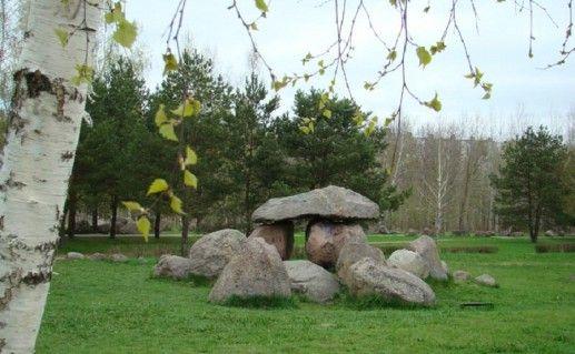 фотография музея камней в Минске