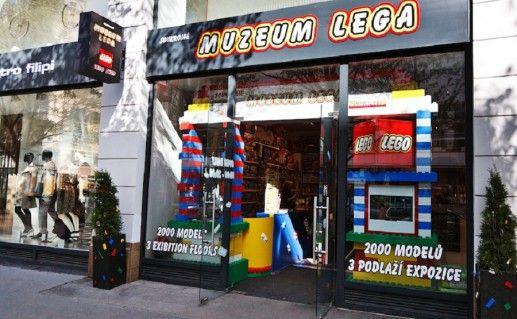 фотография музея лего в Праге