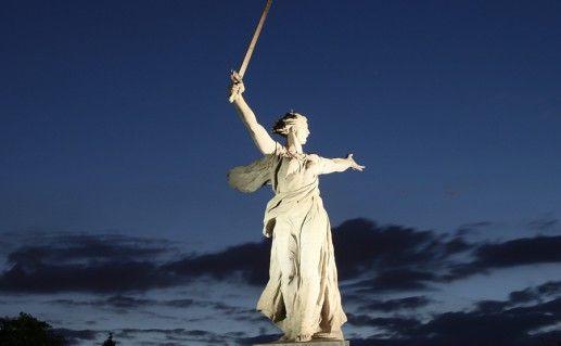 фото памятника в музее-заповеднике Сталинградская битва в Волгограде
