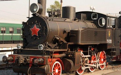 фотография экспонатов Челябинского музея южно-уральской железной дороги
