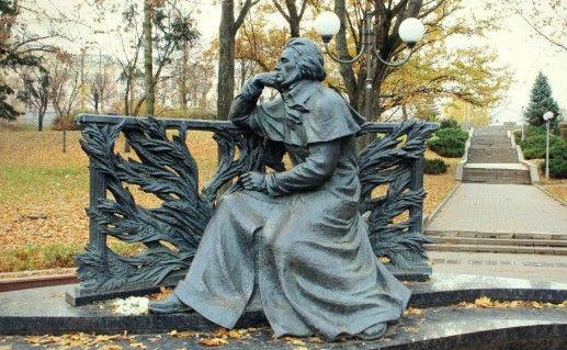 минский памятник Адаму Мицкевичу фотография