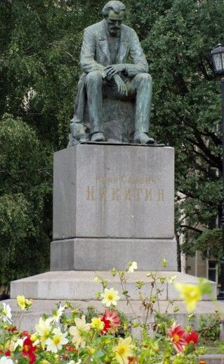 Воронежский памятник Никитину фото
