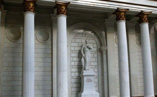 фото памятника Шаляпину в Уфе