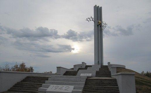 саратовский памятник Журавли фотография