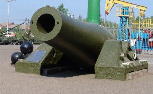 фотография Пермской царь-пушки в Мотовилихинском музее