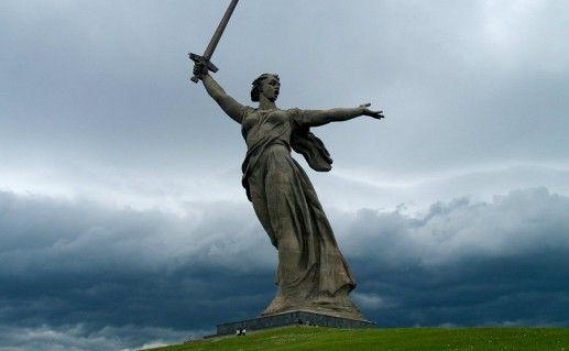 волгоградский монумент Родина-мать зовет фотография