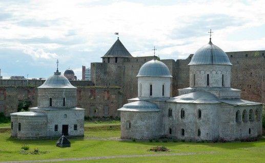 фото Успенской церкви в Ивангороде