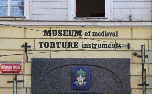 фото входа в музей пыток в Праге