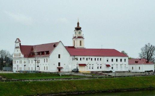 фото вида на иезуитский коллегиум в Орше