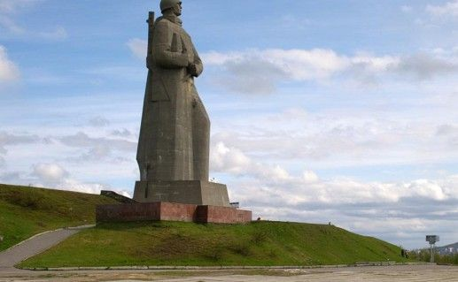 мурманский мемориал Алеша фото