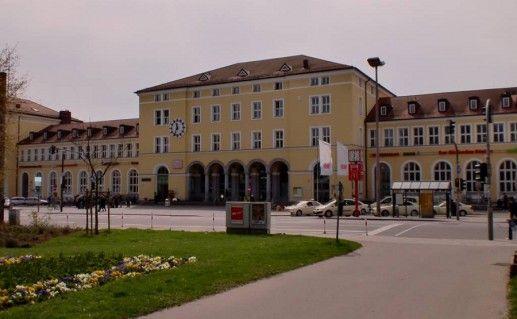 фото железнодорожного вокзала Регенсбурга