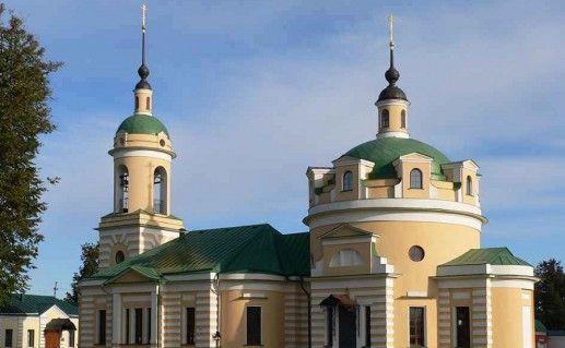 Аносин Борисоглебский монастырь в Подмосковье фотография