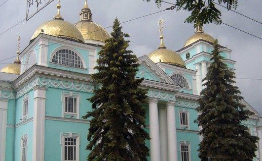 фотография белгородского Преображенского кафедрального собора