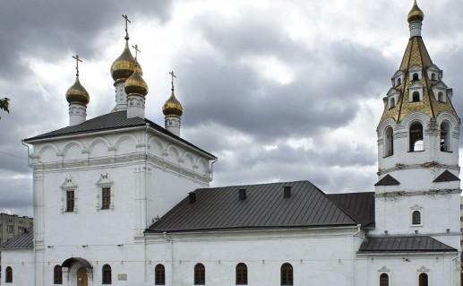 Успенско-Николаевский собор в Белгороде фотография