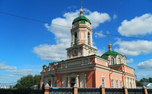 Богородично-Рождественнский Ильинский монастырь в Тюмени фотография