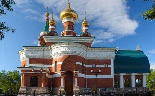 фотография церкви Георгия Победоносца в Челябинске