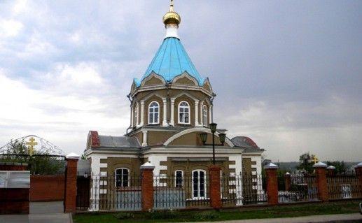 фотография старооскольской церкви Николая Чудотворца