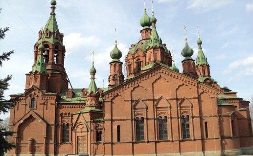 церковь Александра Невского в Челябинске фотография