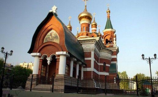 фото челябинской церкви Георгия Победоносца