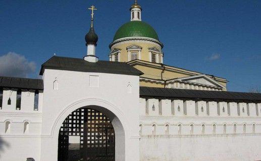 фотография вида вблизи на Данилов монастырь в Москве