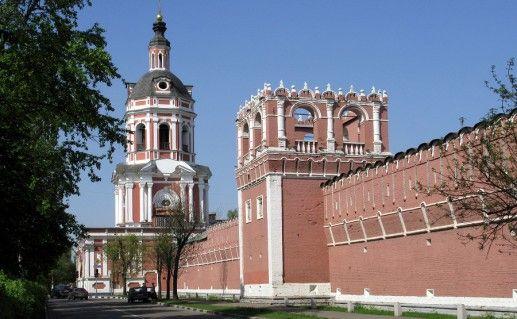 московский Донской монастырь фотография