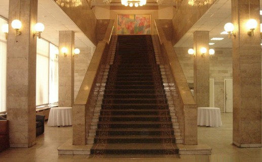 интерьер дворца бракосочетания №4 в Москве фото