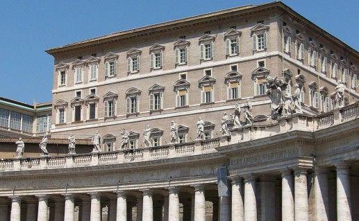 фотография дворца Папы в Ватикане