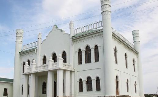 фотография дворца Тевкелевых в Башкирии