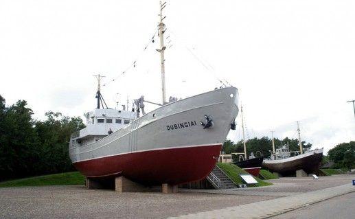 фото экспонатов морского музея в Клайпеде