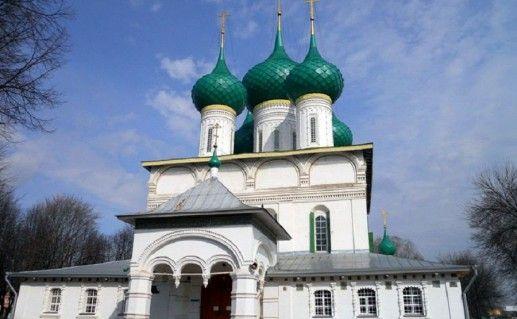 Феодоровский кафедральный собор Ярославля фото