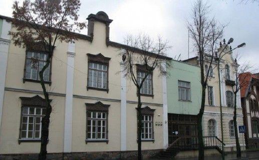 фотография галереи Пранаса Домшайтиса в Клайпеде