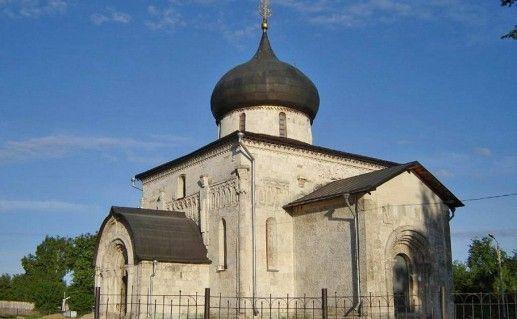 фото Георгиевского собора в Юрьев-Польском